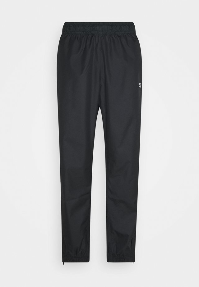 TRACK PANT UNISEX - Tracksuit bottoms - black/off noir