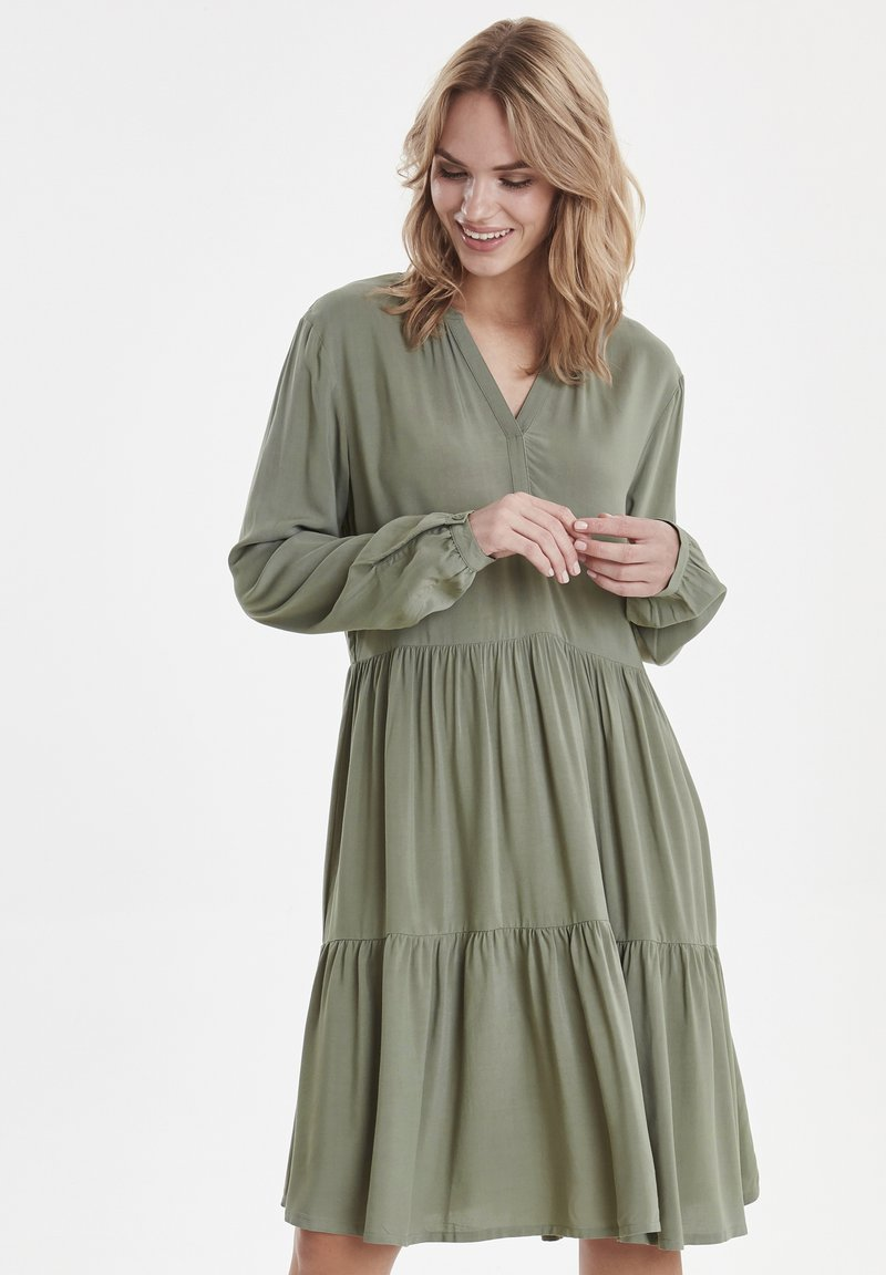 b.young - BYISOLE  - Day dress - sea green