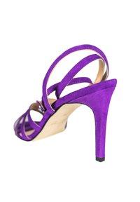 Alberto Zago - GRETA - Sandales à talons hauts - royal purple - 3