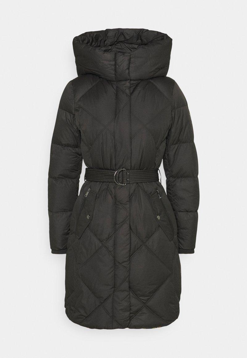 Lauren Ralph Lauren - MATTE FINISH COZY BELTED COAT - Down coat - black