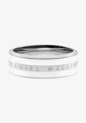 CLASSIC SATIN WHITE - Ring - silver