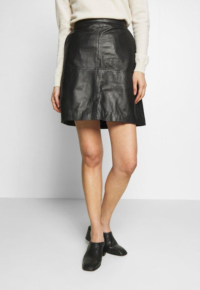 VITA - Mini skirt - black