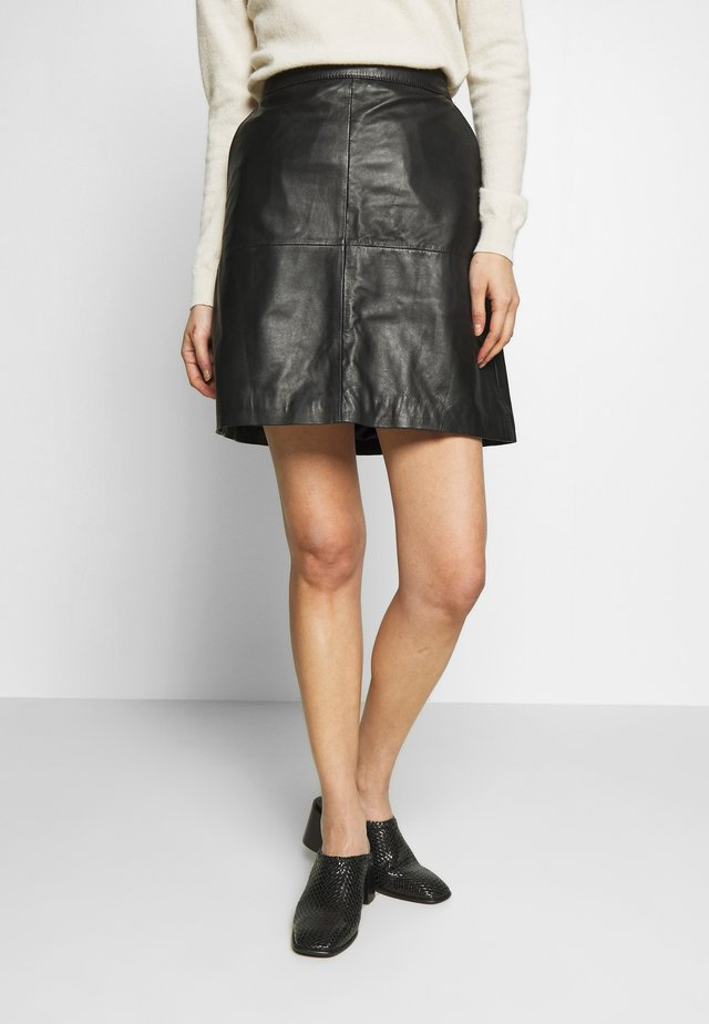 VITA - Spódnica mini - black