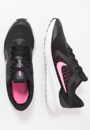 DOWNSHIFTER - Chaussures de running neutres - black/pink glow/anthracite/white