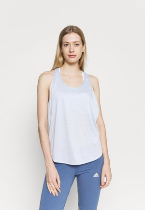 TECH VENT TANK - Sports shirt - isotope blue
