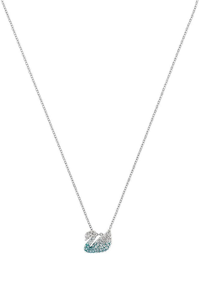 SWAN  - Necklace - silber