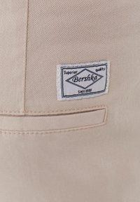 Bershka - Trousers - beige - 6