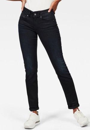 MIDGE MID STRAIGHT - Slim fit jeans - dark-blue denim