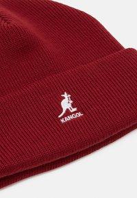 Kangol - CUFF PULL ON UNISEX - Bonnet - red velvet - 2