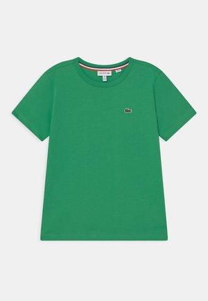 TEE  - Jednoduché triko - malachite