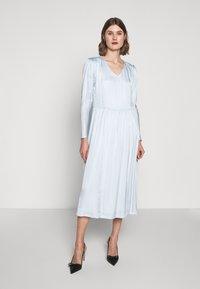 Bruuns Bazaar - ANOUR ART DRESS - Day dress - heather blue - 0