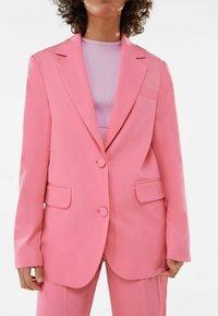 Bershka - Short coat - pink - 3