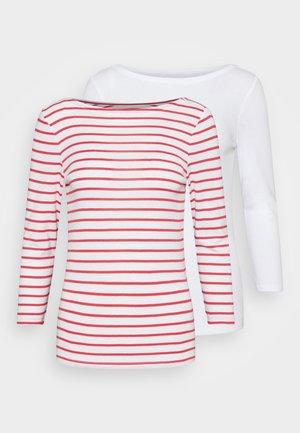 BALLET 2 PACK  - Print T-shirt - red white