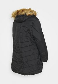 Modern Eternity - LEXIE LENGTH CHEVRON PUFFER MATERNITY - Winter coat - black - 1