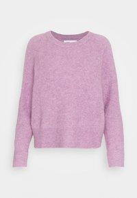 Jersey de punto - purple jasper melange