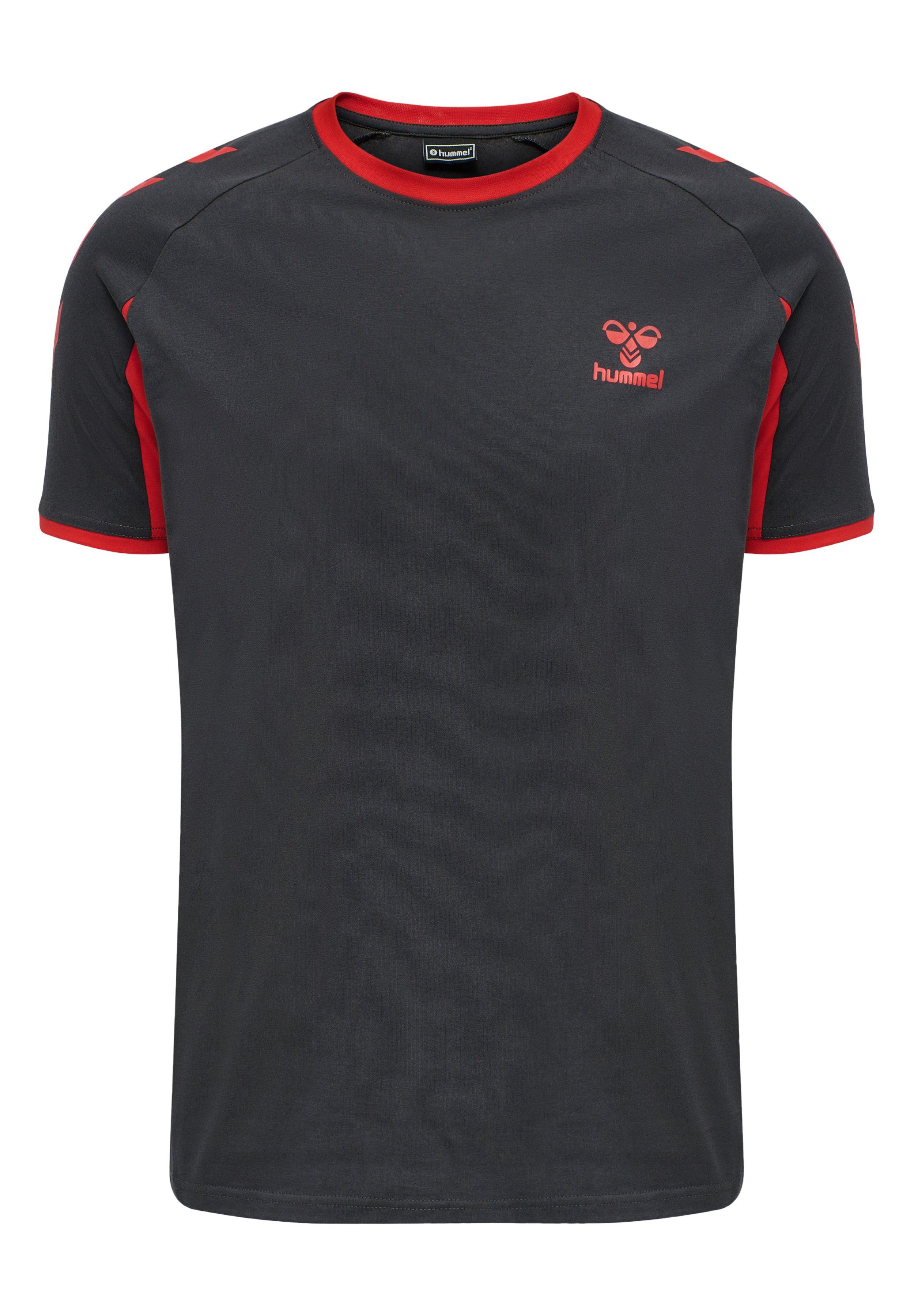 Herren HMLACTION COTTON T-SHIRT - T-Shirt print
