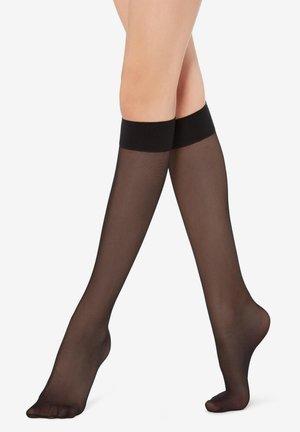 MIT KOMFORTBÜNDCHEN - Knee high socks - black