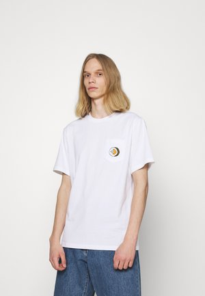 SUSHI SHORT SLEEVE TEE - Camiseta estampada - white