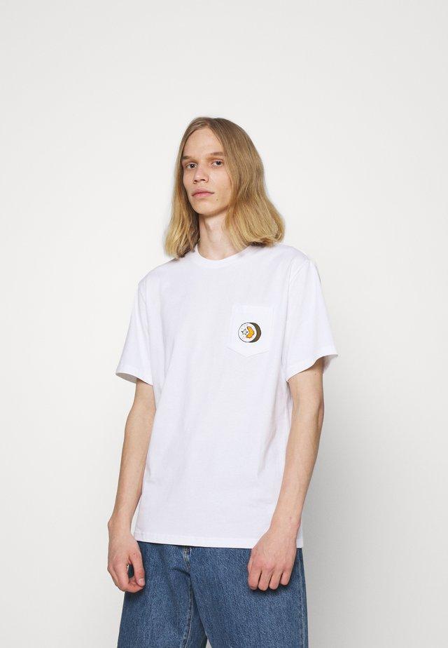 SUSHI SHORT SLEEVE TEE - T-shirt print - white