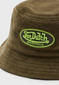 Von Dutch - BUCKET UNISEX - Hatt - green - 2
