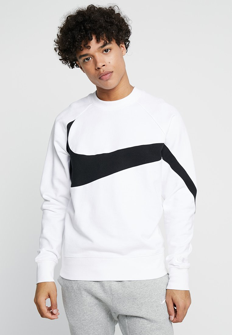 Nike Sportswear CREW Sweater whiteblackwit Zalando.nl