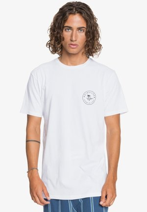 FUTURE WAVES - Print T-shirt - white