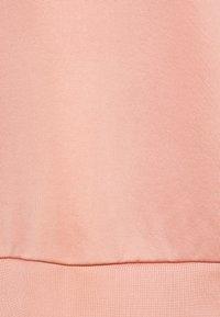 Marc O'Polo PURE - HIGH CREW NECK LONG VOLUME SLEEVE WITH DARTS TOWARD - Sweatshirt - winter rose - 2