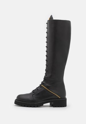 BOOT - Botas con cordones - noble nero