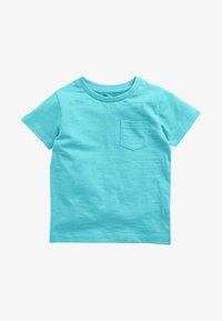 Next - SHORT SLEEVE - Basic T-shirt - turquoise - 0