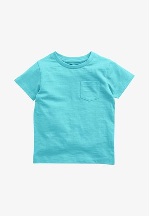SHORT SLEEVE - Jednoduché triko - turquoise
