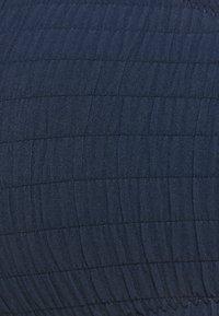 watercult - WATERCULT SOLID CRUSH - Bikini pezzo sopra - nightblue - 6