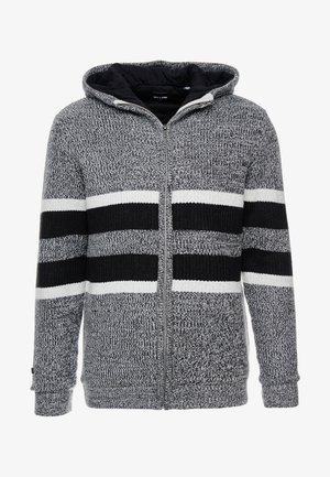 ONSLAZLO  QUILTET ZIP CARDIGAN - Light jacket - light grey melange