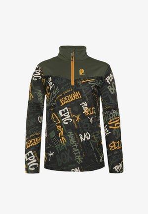 1/4 COMICT JR - Fleece jumper - dark yellow