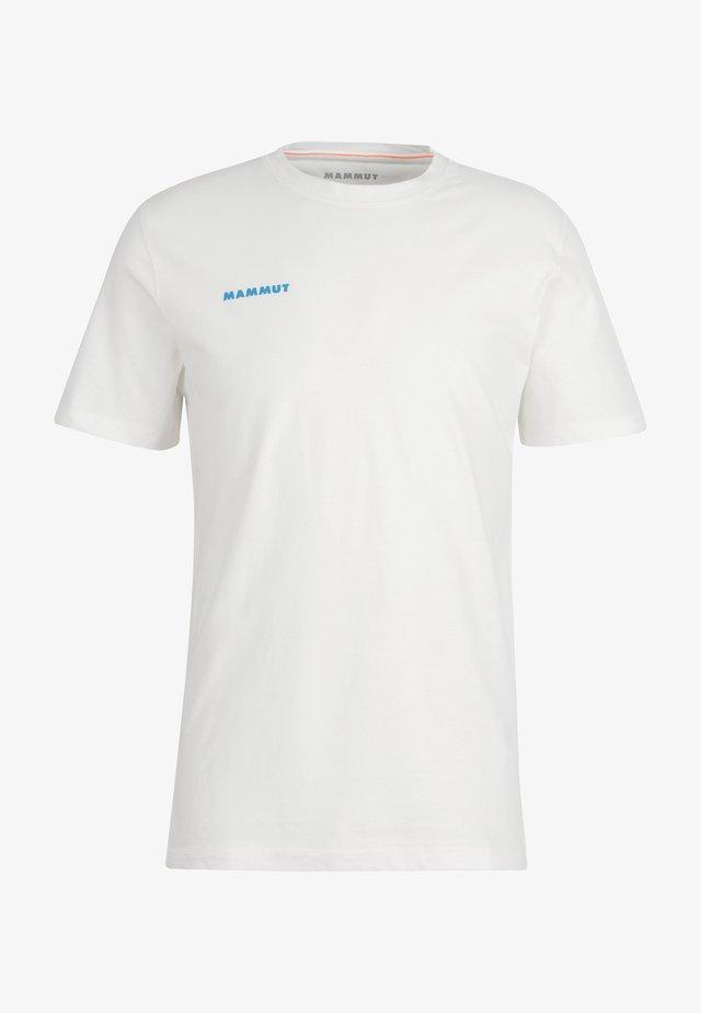 MASSONE - T-shirt print - bright white