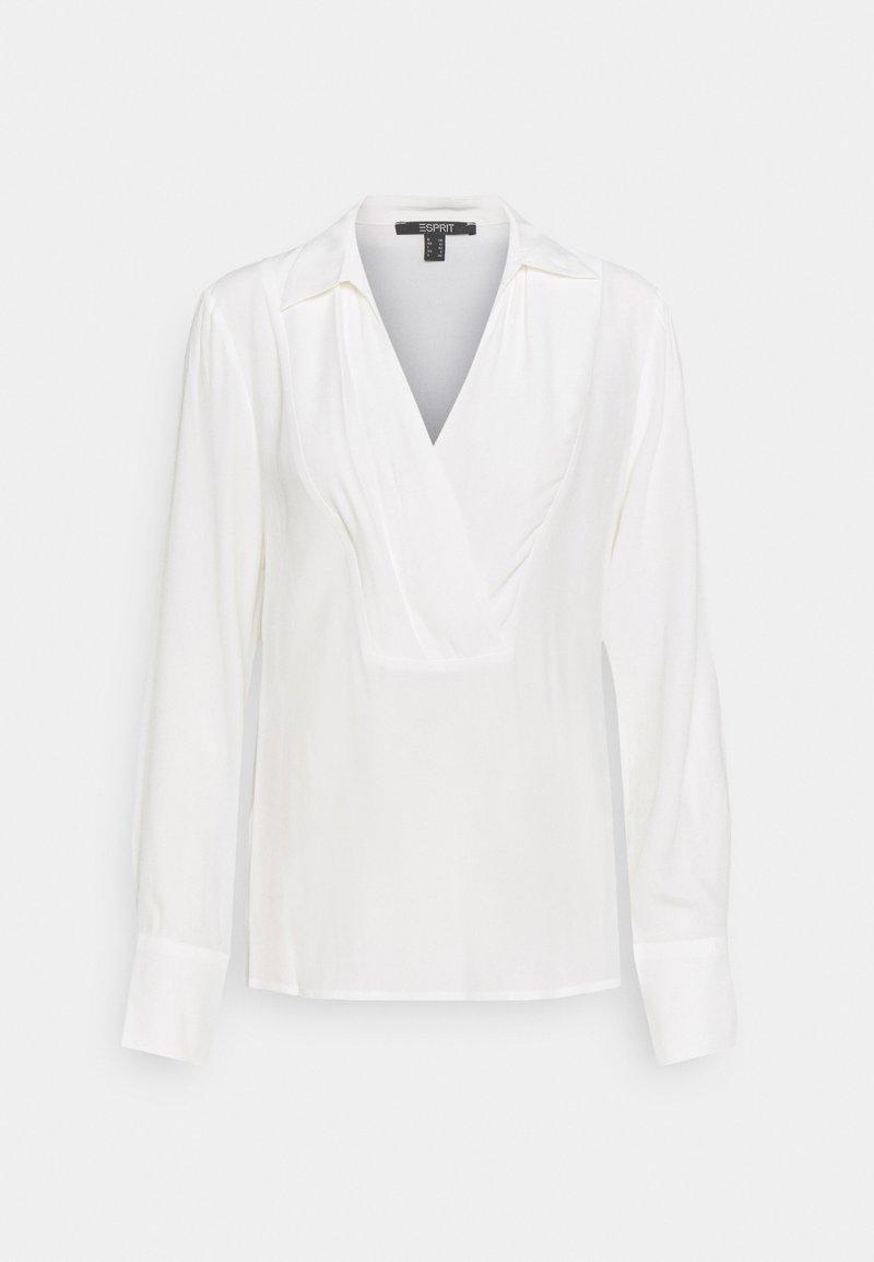 Esprit Collection - BLOUSE - Bluzka z długim rękawem - off white