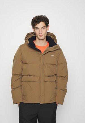 DOVRE JACKET - Down jacket - light brown