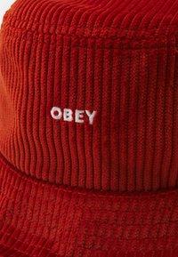 Obey Clothing - BOLD BUCKET HAT UNISEX - Müts - ginger - 2