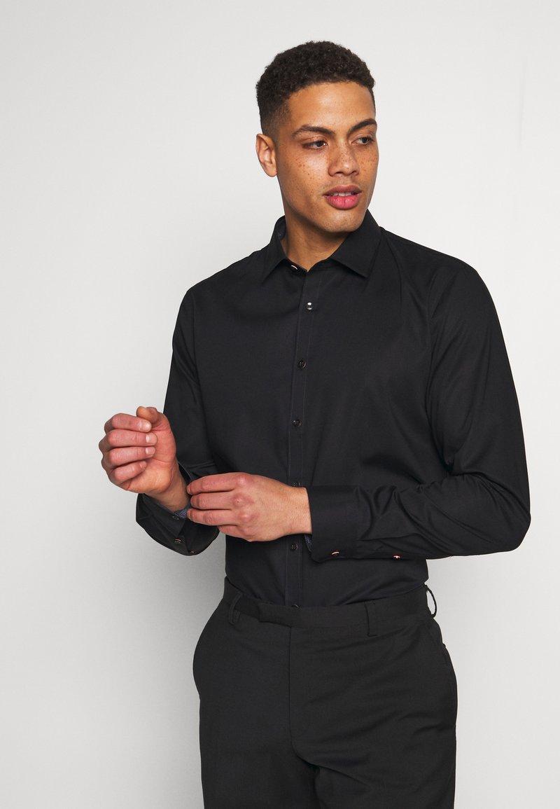 OLYMP - OLYMP NO.6 SUPER SLIM FIT  - Kostymskjorta - schwarz
