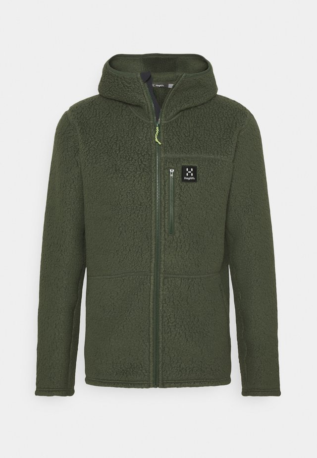 HOOD MEN - Forro polar - fjell green