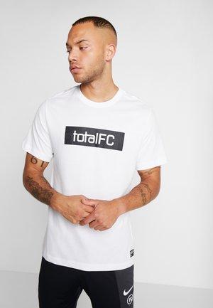 FC DRY TEE SEASONAL  - Triko spotiskem - white