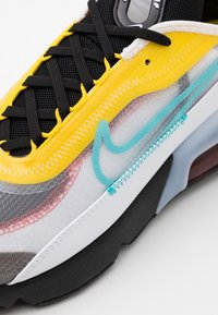 Nike Sportswear - Trainers - white/bleached aqua/black/speed yellow/chile red - 5