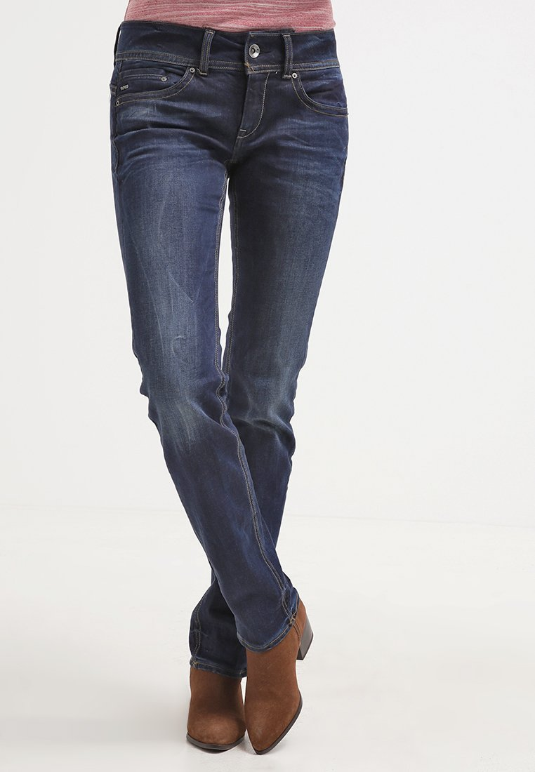 G-Star - MIDGE SADDLE MID STRAIGHT  - Straight leg jeans - denim