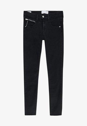 Jeans Skinny Fit - black zip