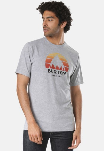 BURTON UNDERHILL - Print T-shirt - grey