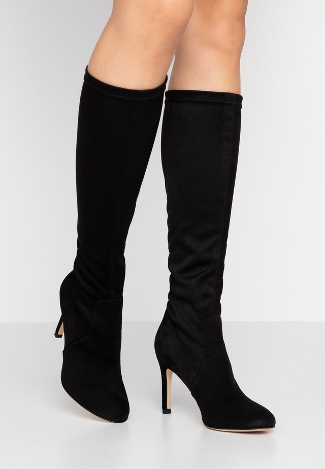 ARCADE - High heeled boots - black