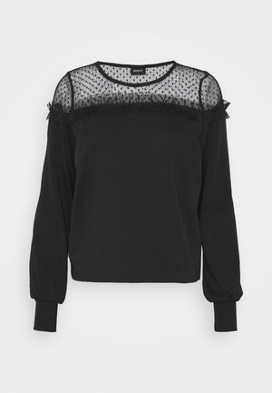 ONLCHERRY ONECK - Sweatshirt - black