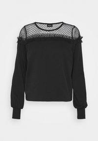 ONLY - ONLCHERRY ONECK - Sweatshirt - black - 4