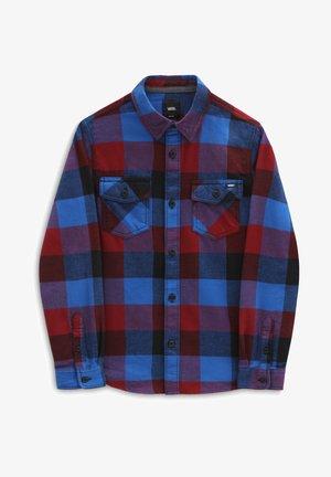 BY BOX - Shirt - pomegranate/nautical blue