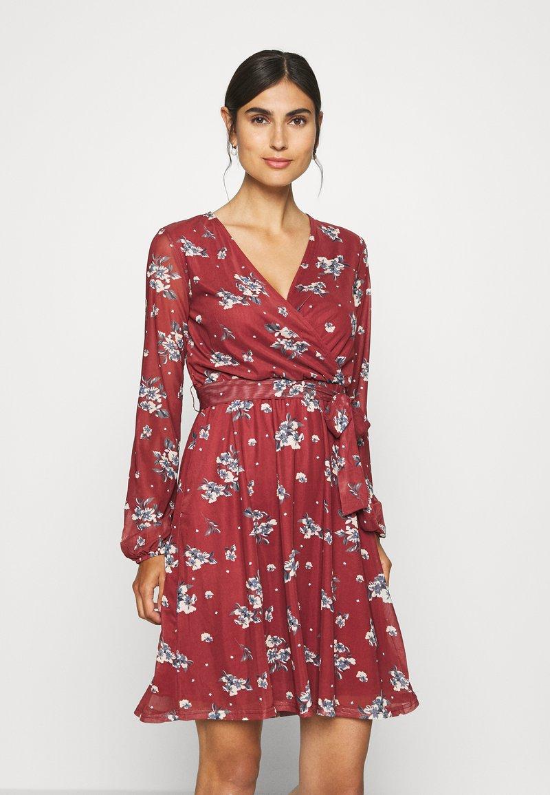 Anna Field - Day dress - dark red