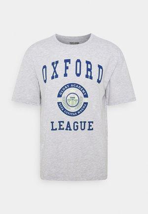 JOROXFORD TEE CREW NECK - Print T-shirt - grey